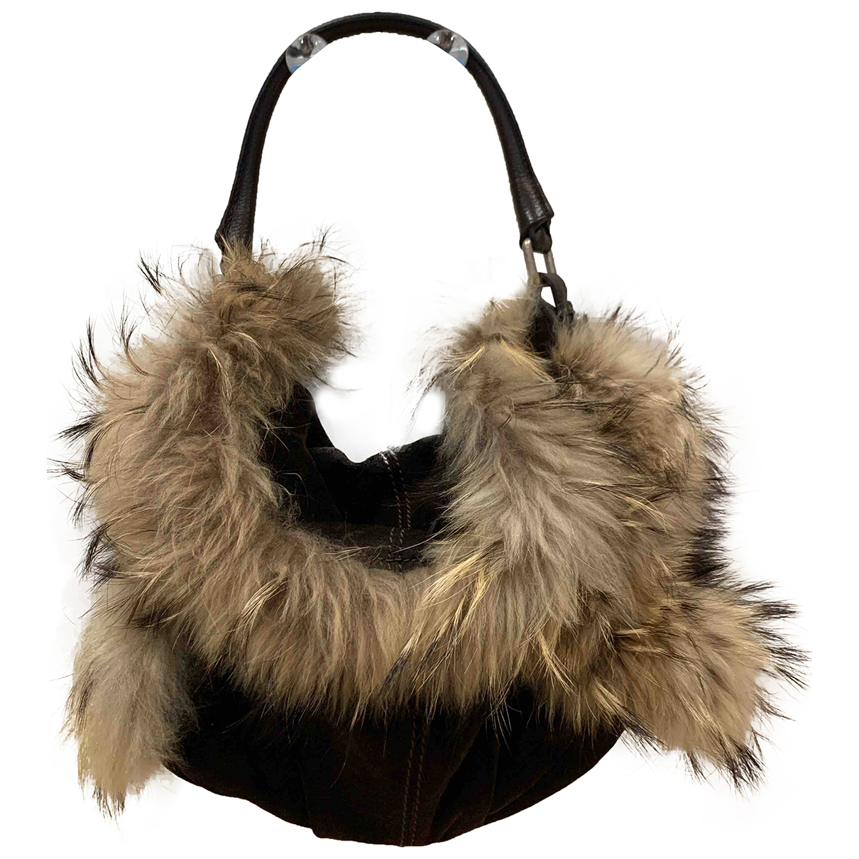Max Mara N Brown Suede handbag for Women N