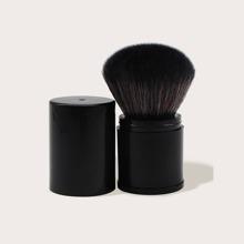Schwarz Make-up-Buersten