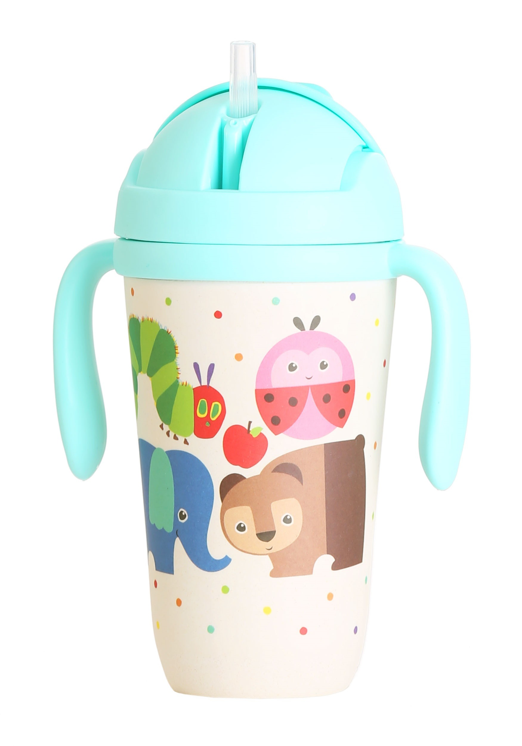 The World of Eric Carle Toddler Cup with Flip Top and Straw