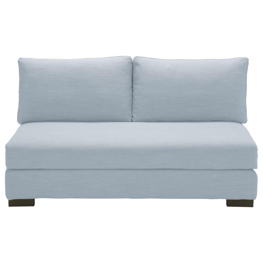 2-Sitzer-Liegesessel, gletscherblau Terence