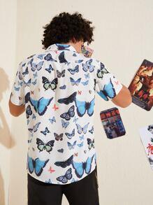 Guys Butterfly Shirt