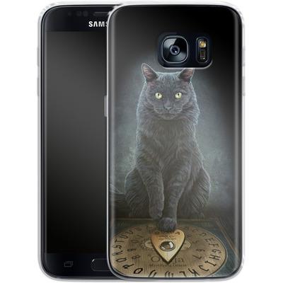 Samsung Galaxy S7 Silikon Handyhuelle - His Masters Voice von Lisa Parker