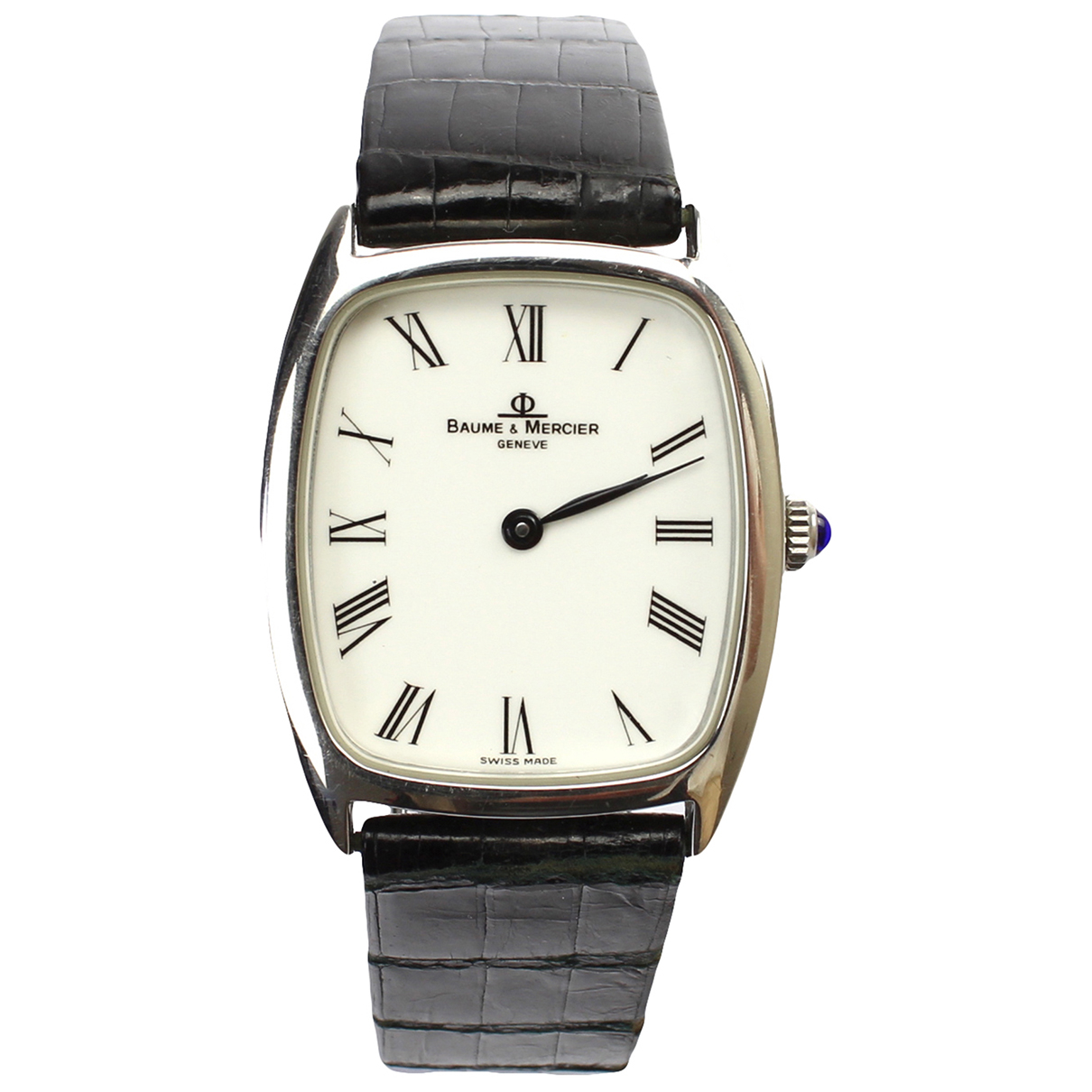 Baume Et Mercier \N Uhr in  Weiss Stahl