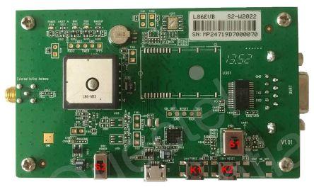 Quectel L86EBV-KIT, L86 GLONASS (GNSS), GPS Evaluation Board