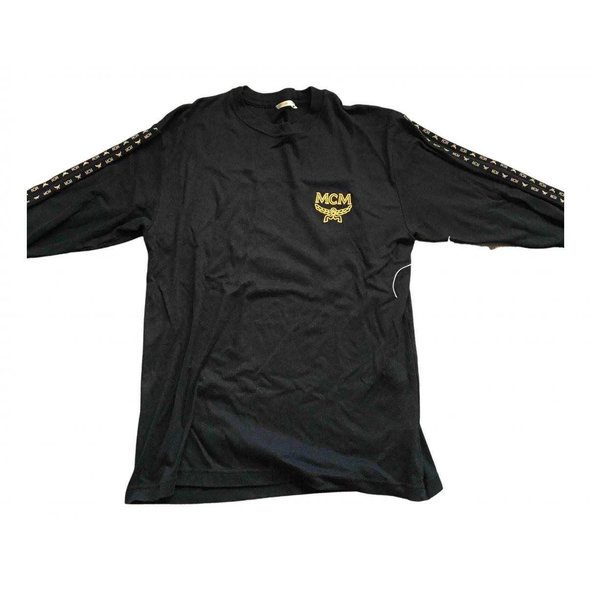 Mcm \N Pullover.Westen.Sweatshirts  in  Schwarz Synthetik