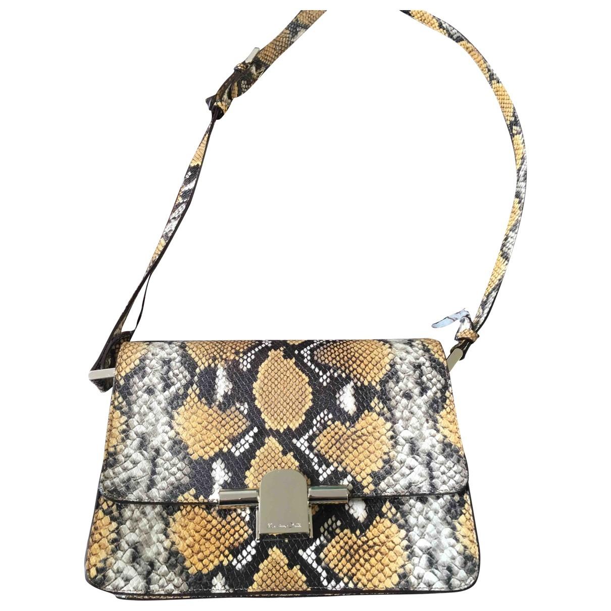 Massimo Dutti \N Handtasche in  Bunt Leder