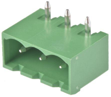 Wurth Elektronik , 3137, 3 Way, 1 Row, Right Angle PCB Header