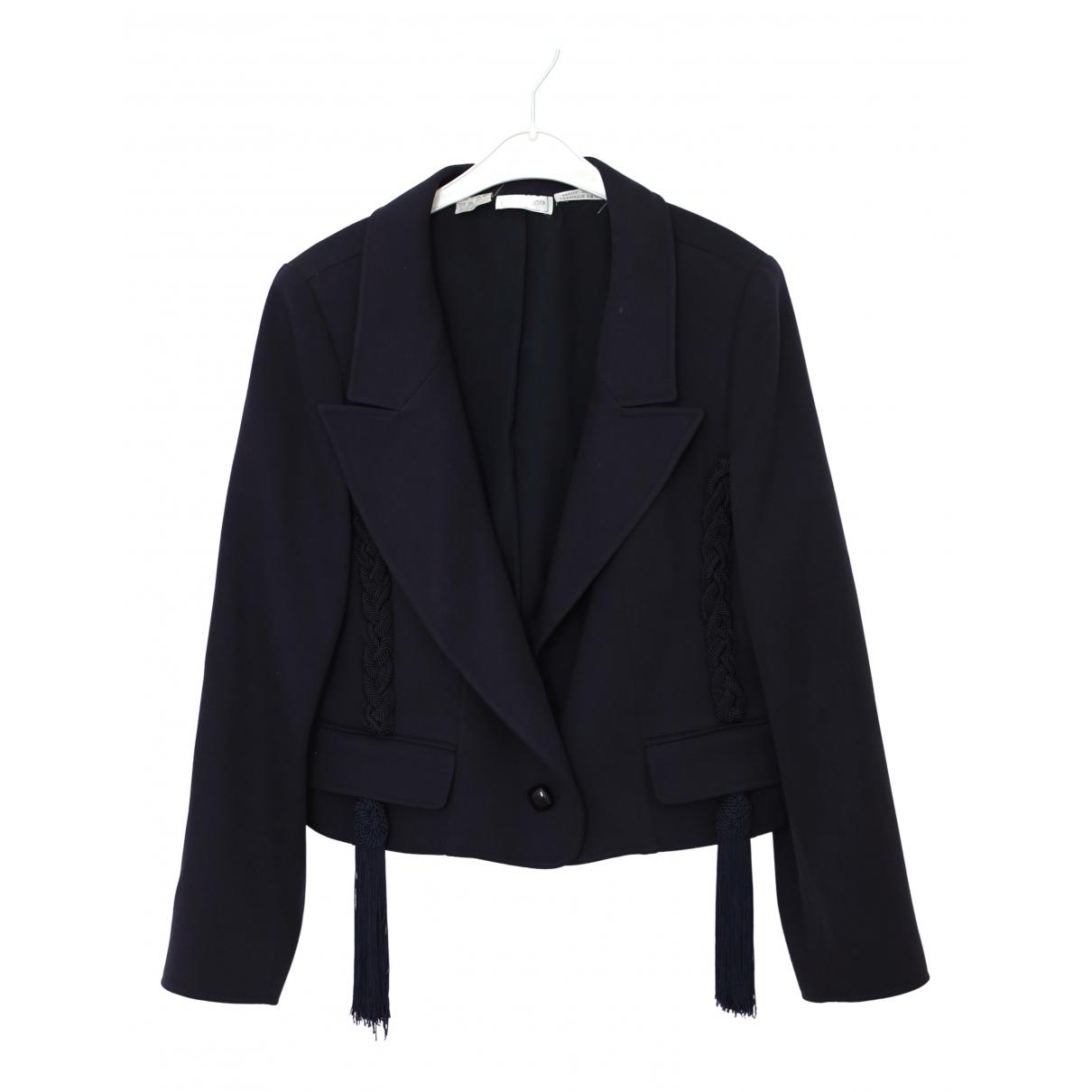 Valentino Garavani - Veste   pour femme en laine - marine