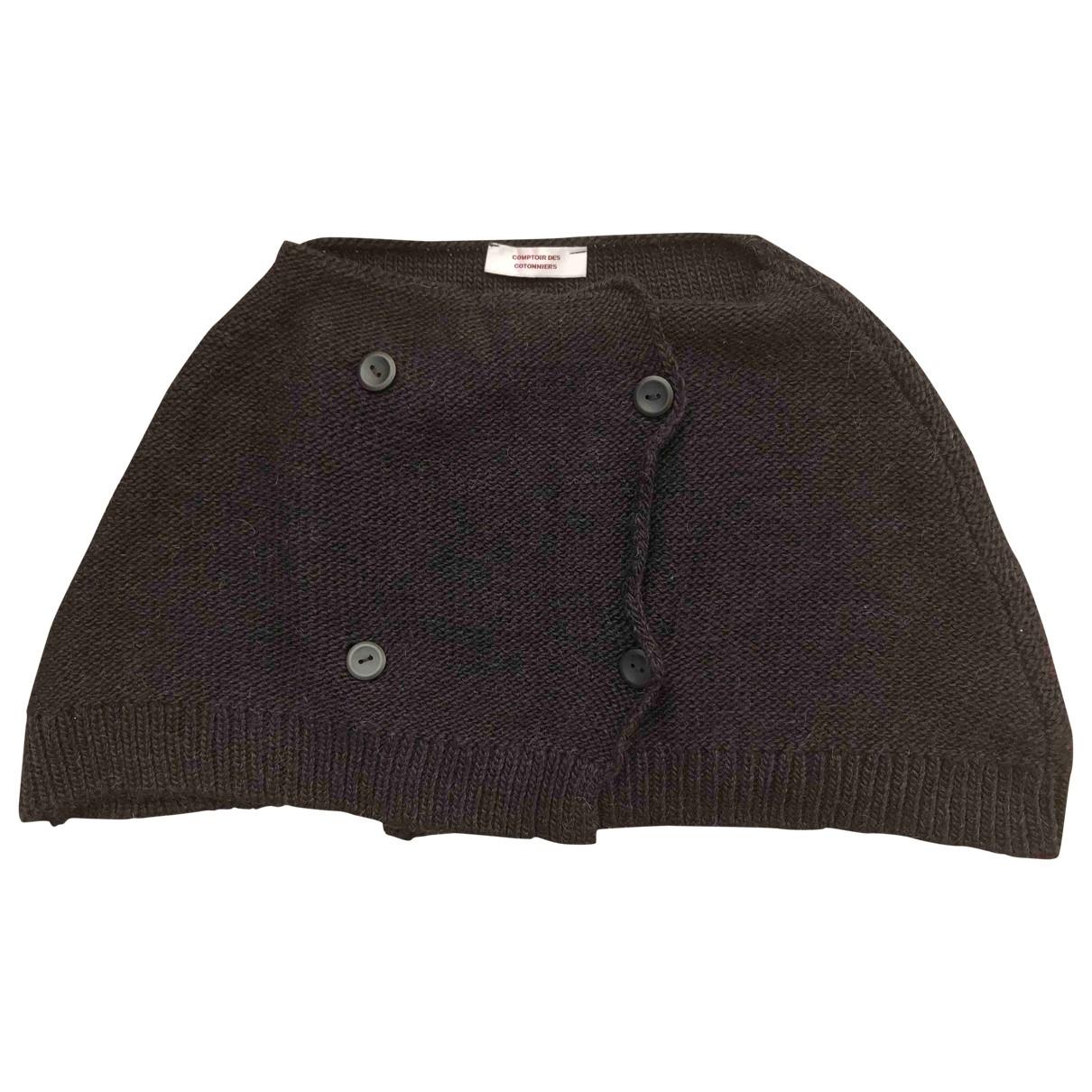 Comptoir Des Cotonniers - Pull   pour femme en laine - noir