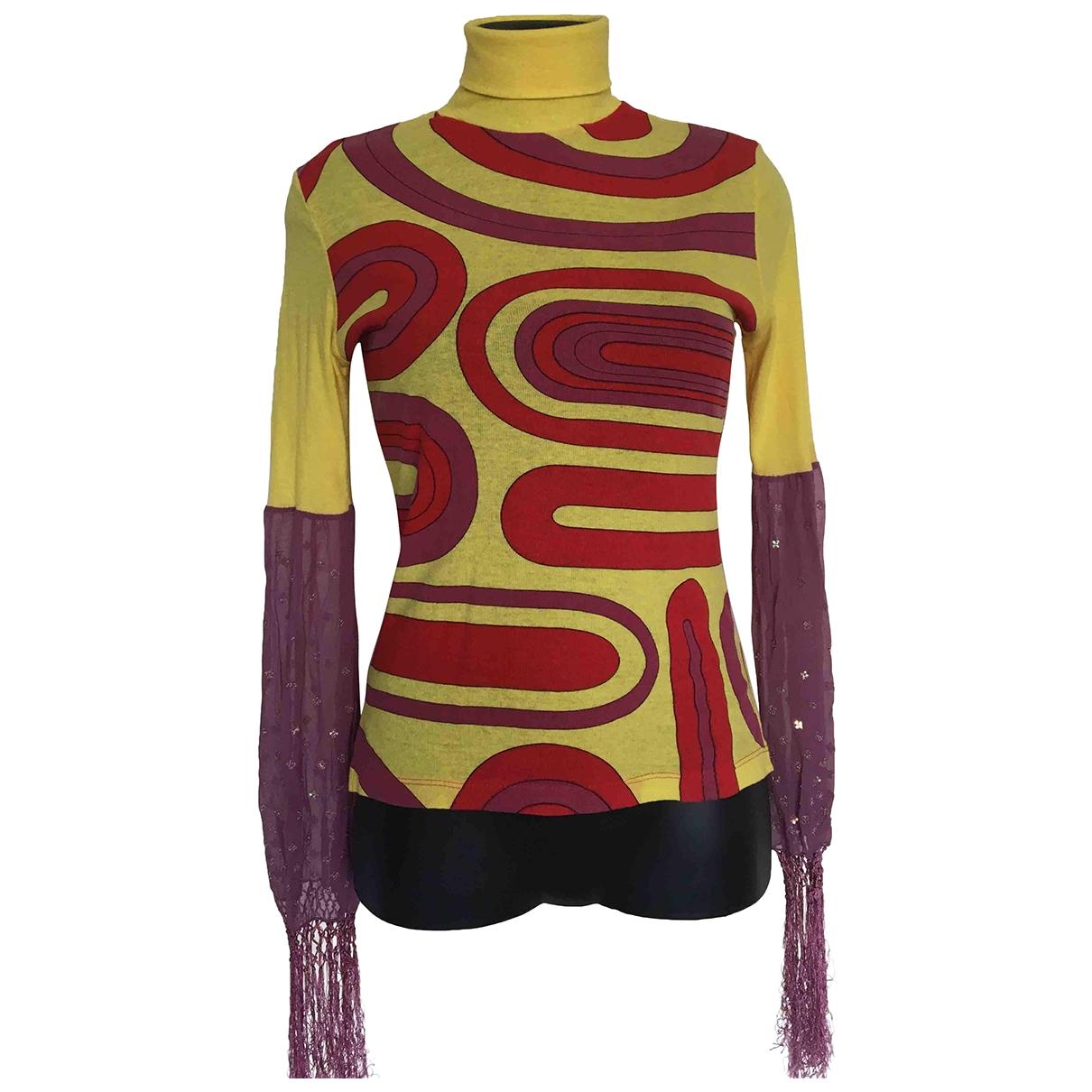 Non Signé / Unsigned \N Multicolour Cotton  top for Women L International