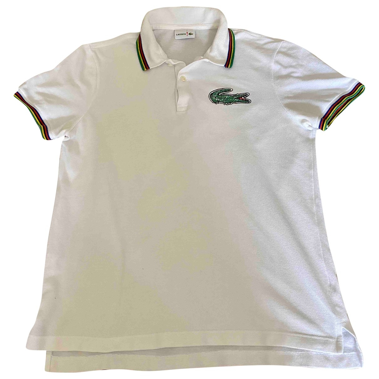 Lacoste \N Poloshirts in  Weiss Baumwolle