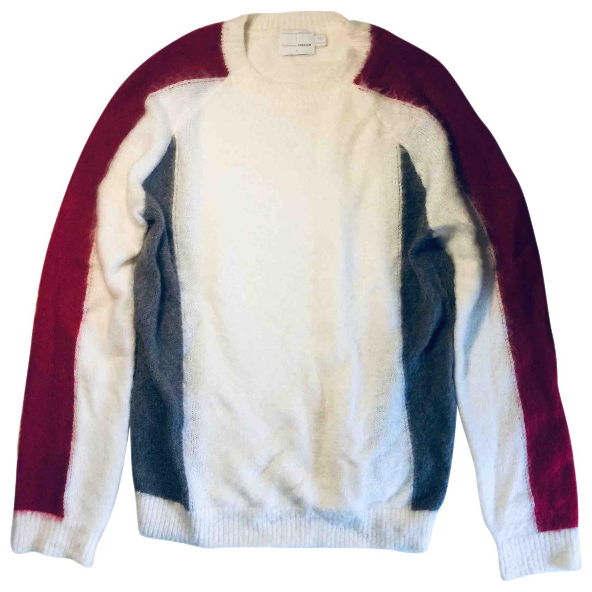 Topman \N Beige Wool Knitwear & Sweatshirts for Men M International