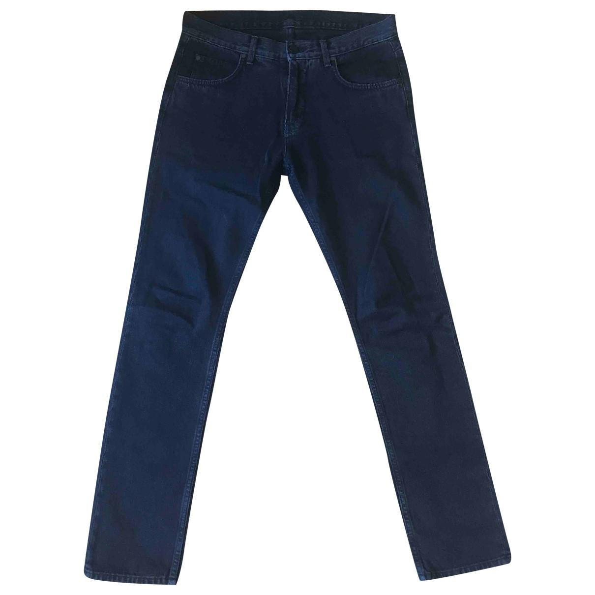 Helmut Lang \N Blue Cotton Jeans for Men 30 US