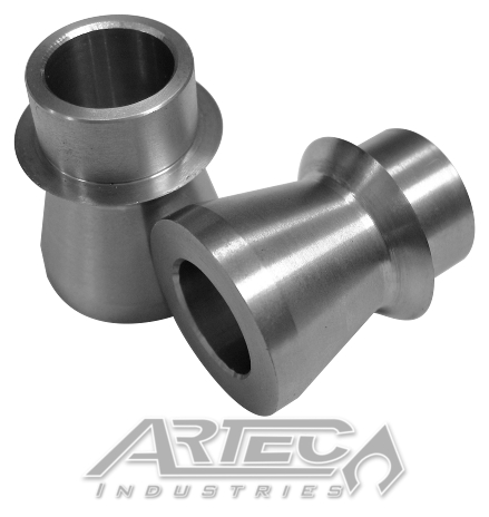 Wide 3/4 Inch High Misalignment Spacers SS 9/16 Inch Pair Artec Industries SP1203