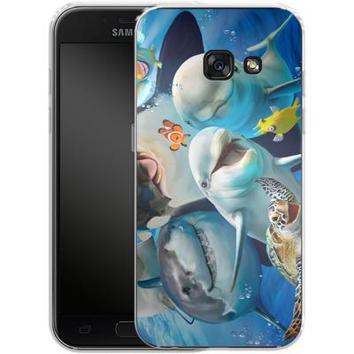 Samsung Galaxy A3 (2017) Silikon Handyhuelle - Ocean Selfie von Howard Robinson