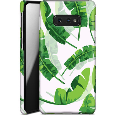 Samsung Galaxy S10e Smartphone Huelle - Banana Leaf von Mukta Lata Barua