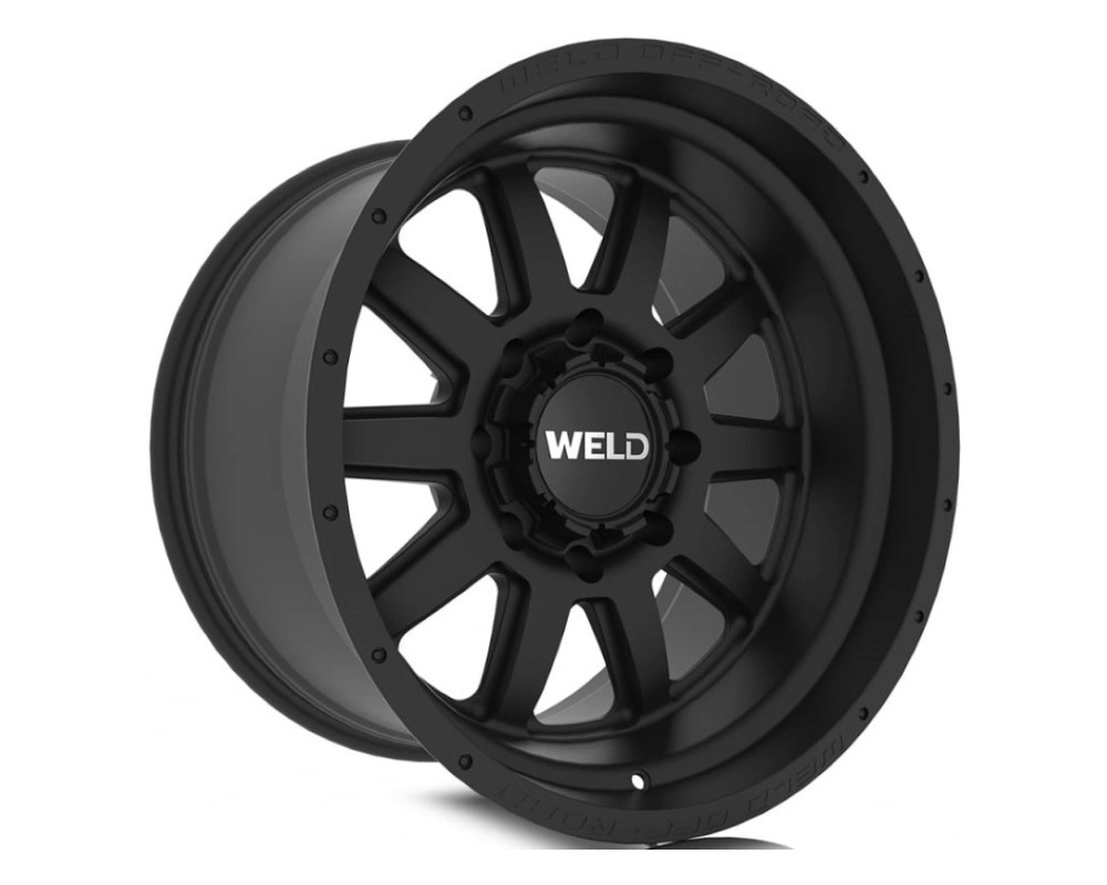 Weld Racing W10100026475 Stealth Wheel 20x10 5x114.3|5x127 -18mm Satin Black
