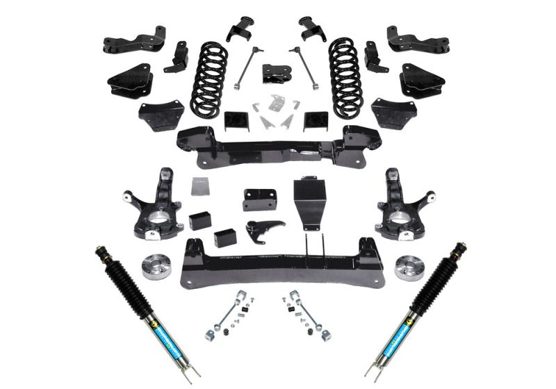 Superlift K123B 6 Lift Kit - 1500 Suburban/Tahoe/Yukon 4WD - Knuckle Kit w/ Bilstein Shocks