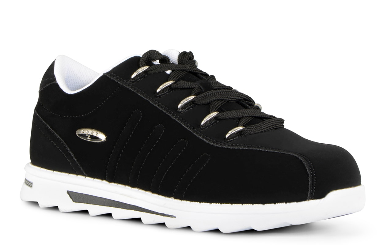 Men's Changeover II Oxford Sneaker (Choose Your Color: Black/White, Choose Your Size: 10.0)