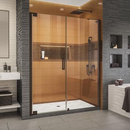 SHDR-4334300-06 Elegance-LS 62 - 64 W x 72 H Frameless Pivot Shower Door in Oil Rubbed
