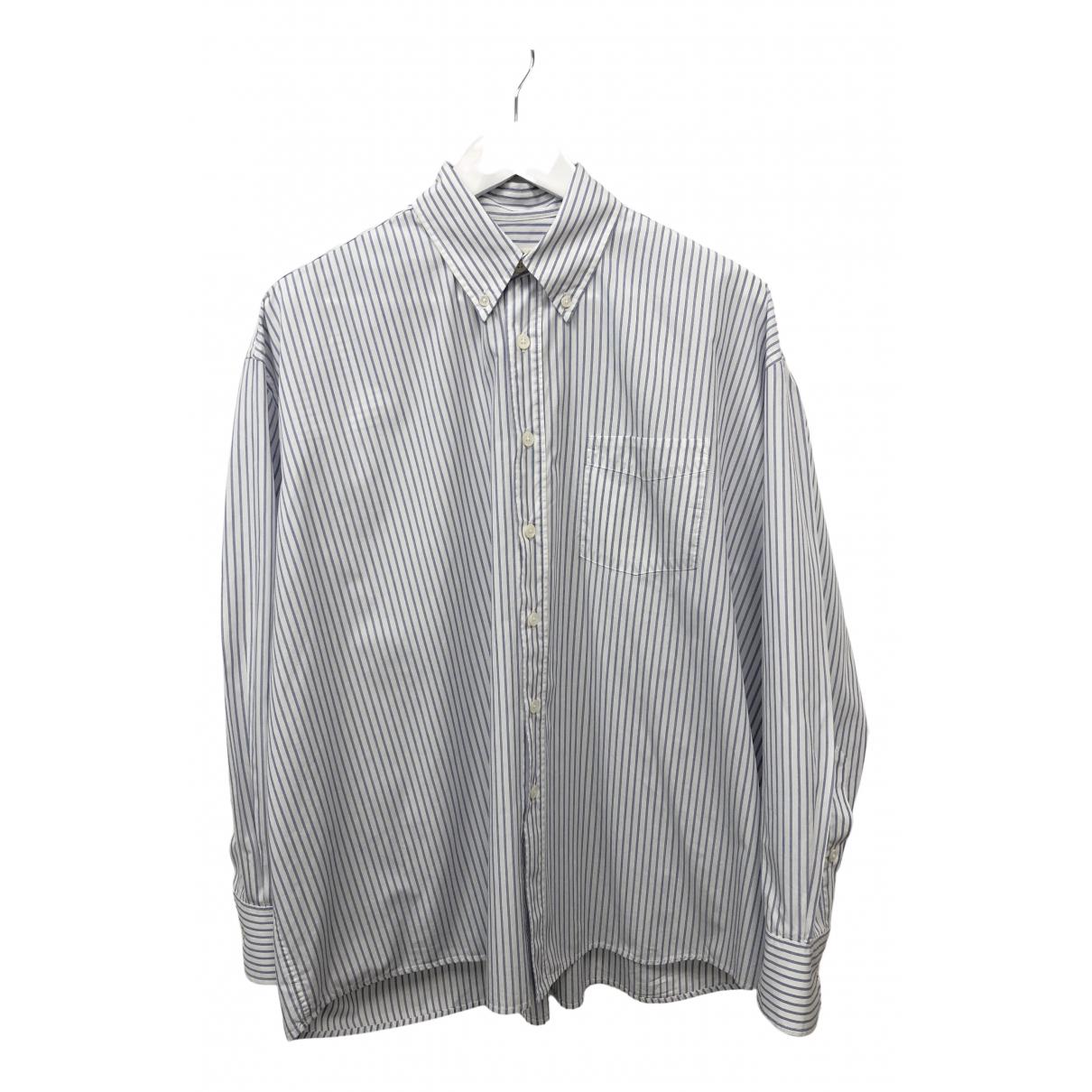 Our Legacy \N Hemden in  Weiss Baumwolle