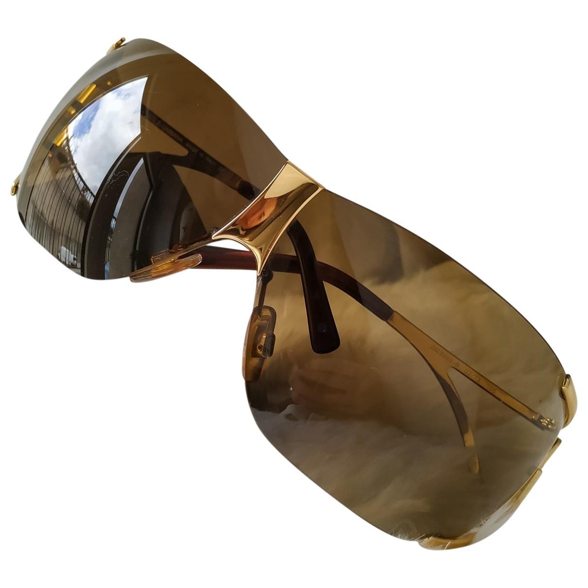Dolce & Gabbana \N Brown Metal Sunglasses for Women \N
