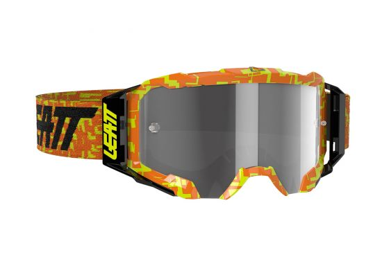 Leatt 8020001055 Velocity 5.5 Goggle Neon Orange Light Grey 58%