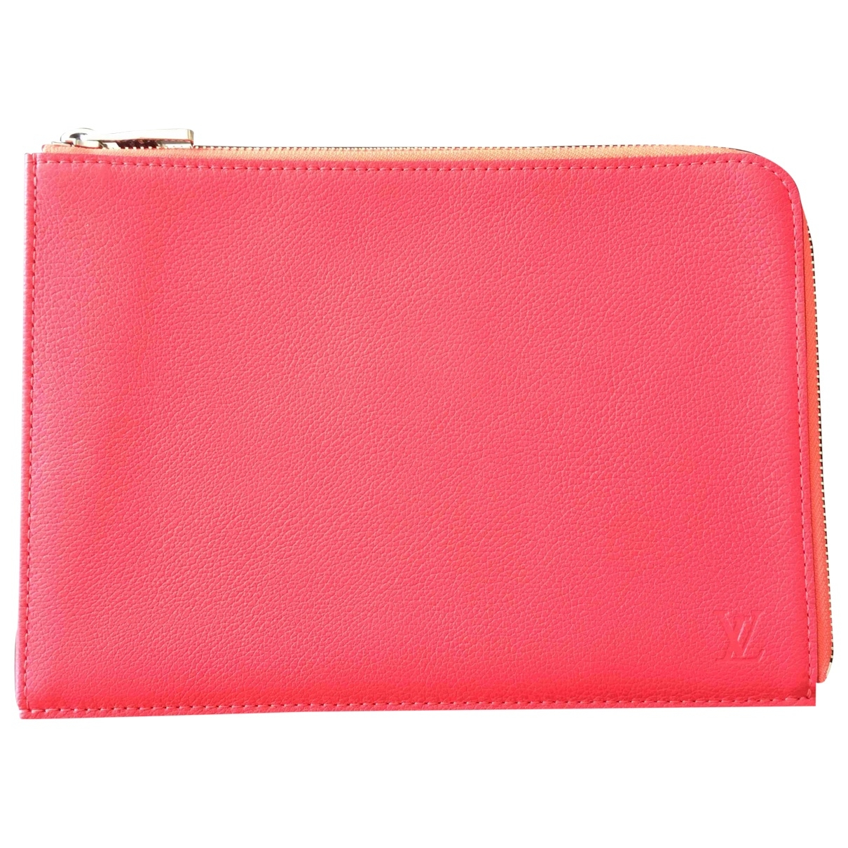 Louis Vuitton \N Pink Leather Clutch bag for Women \N