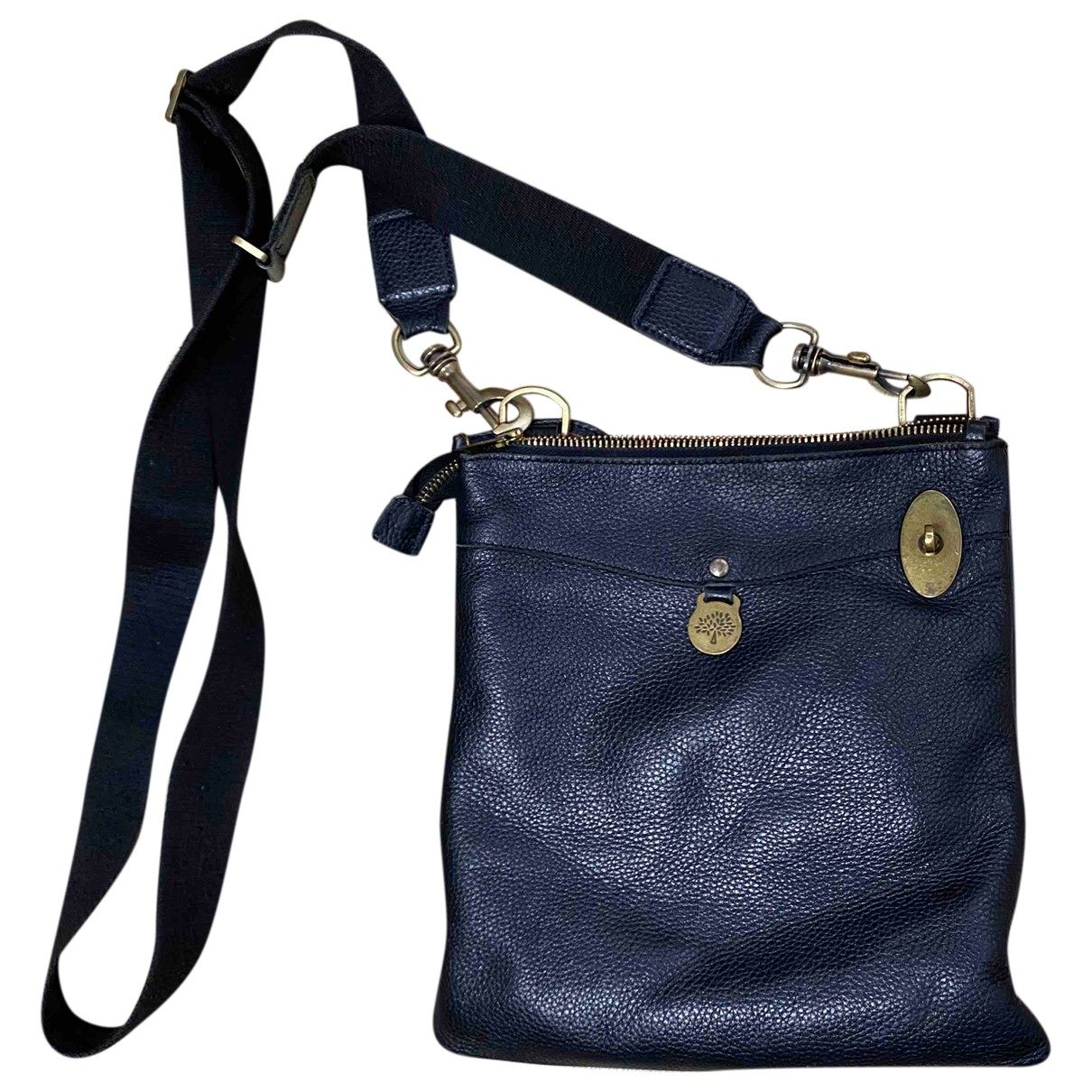 Mulberry Anthony Black Leather handbag for Women N