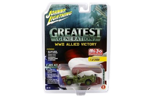 Jeep MB Willys Military Police Limited Edition to 2400 pieces Worldwide