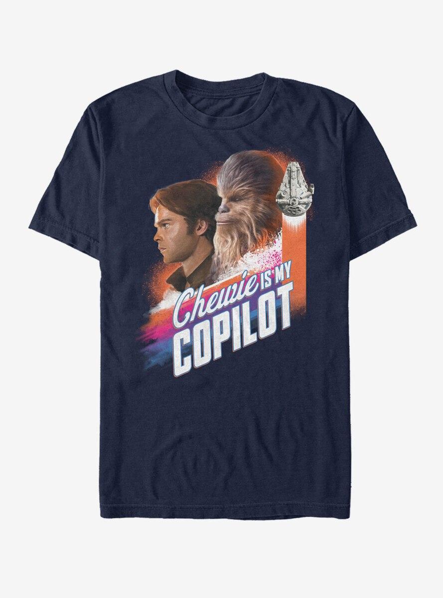 Star Wars Chewie is My Copilot T-Shirt