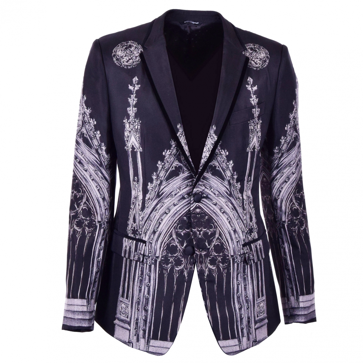 Dolce & Gabbana \N Grey Silk jacket  for Men 48 IT