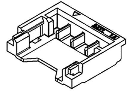 Molex , 78171, 3 Way, 1 Row, Vertical PCB Header (1125)