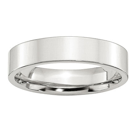 5MM Sterling Silver Wedding Band, 8 , No Color Family