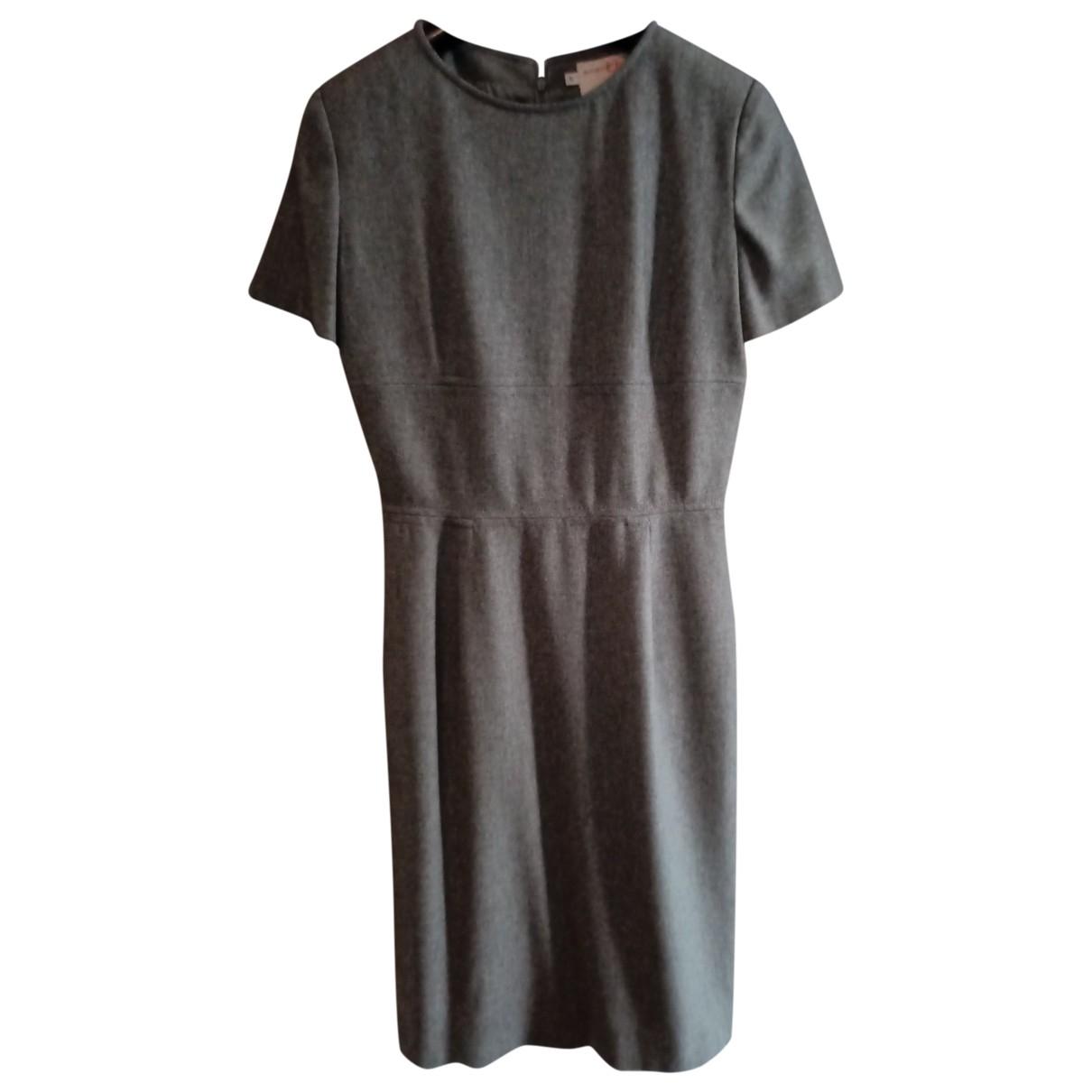 Emanuel Ungaro \N Kleid in  Grau Wolle