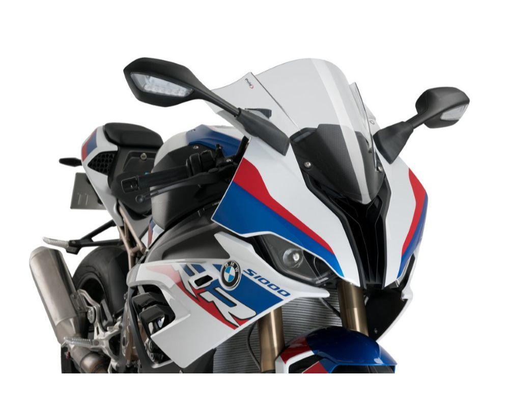 Puig 3571W Z-Racing Windscreen - Clear BMW S1000RR 2019