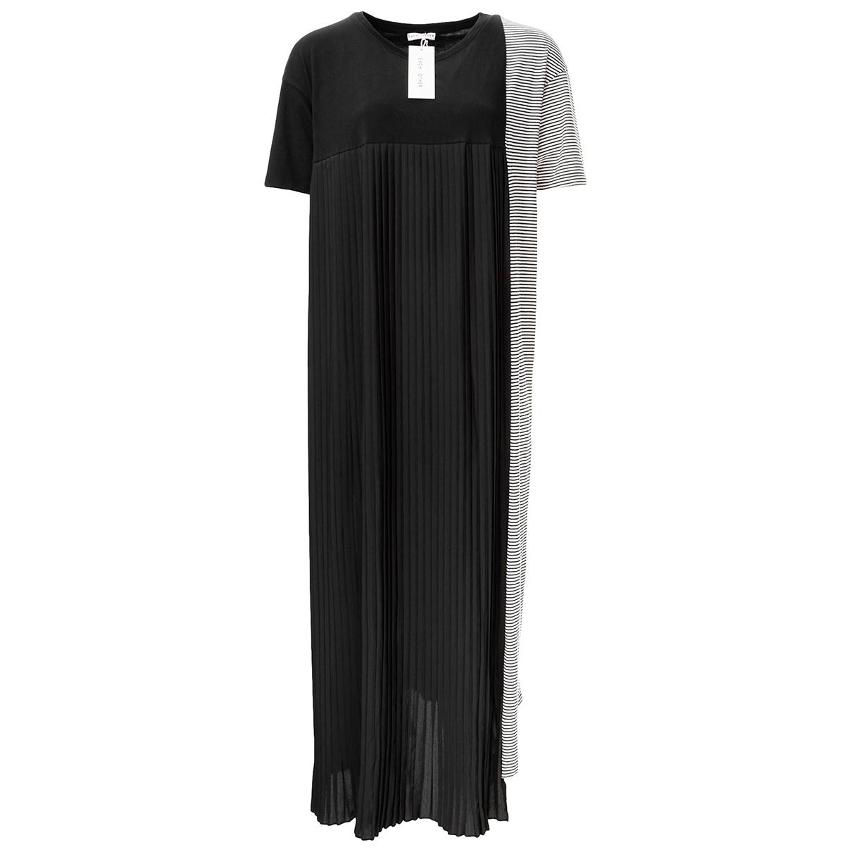 Each X \N Black Cotton dress for Women L International
