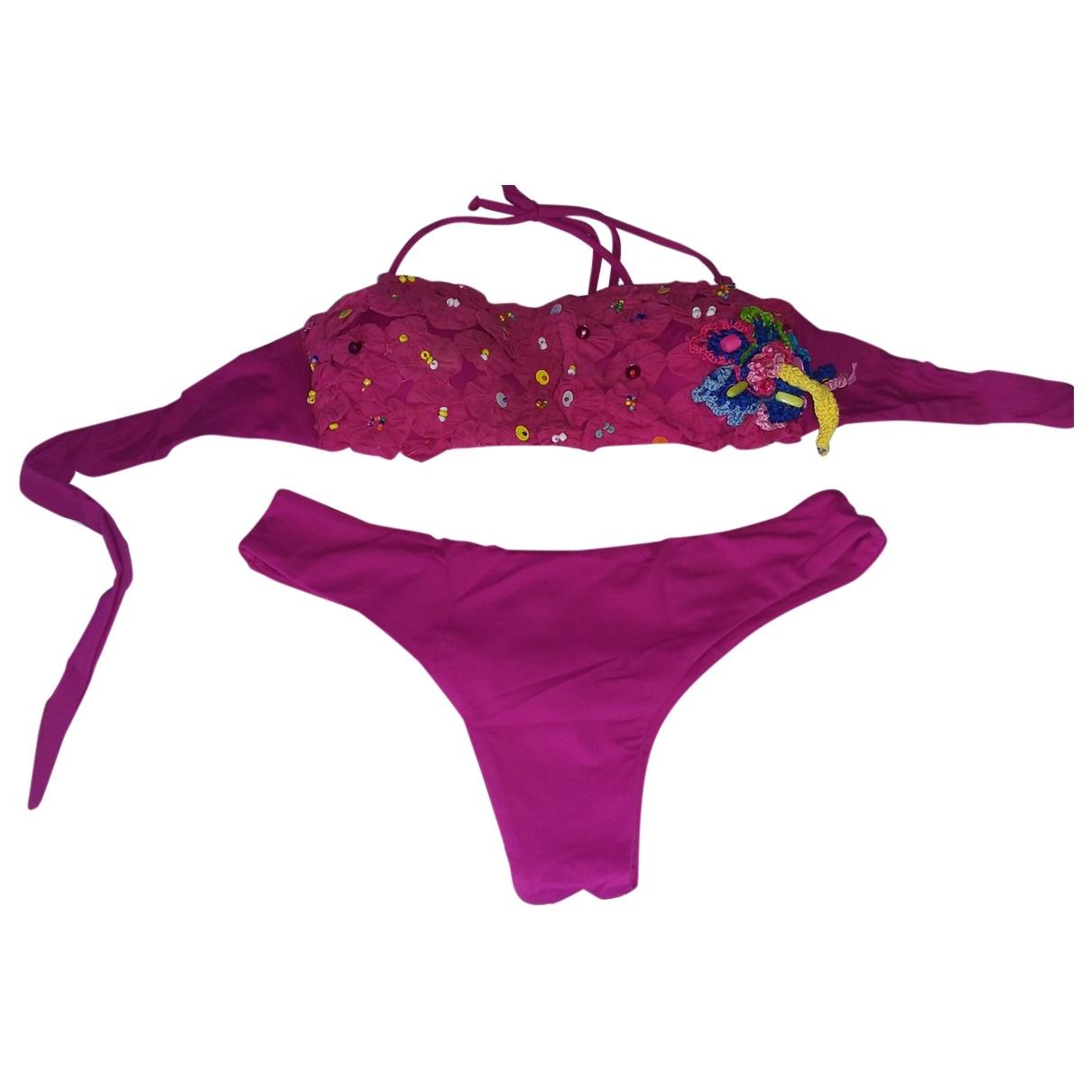 Emamo - Bain   pour femme en lycra - violet