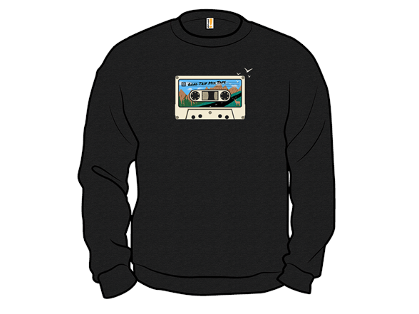 Road Trip Mix Tape T Shirt