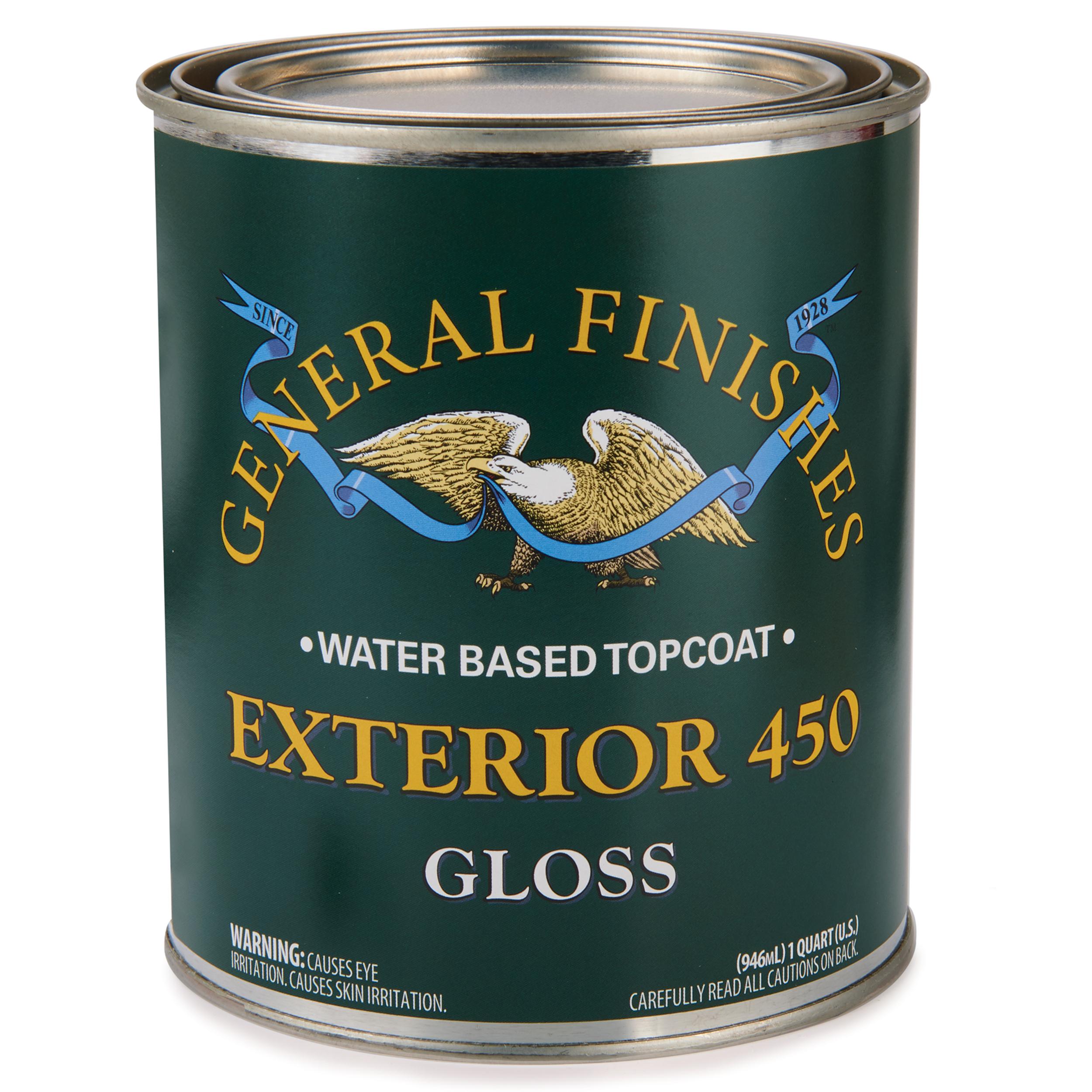 Gloss Exterior 450 Varnish Water Based Quart