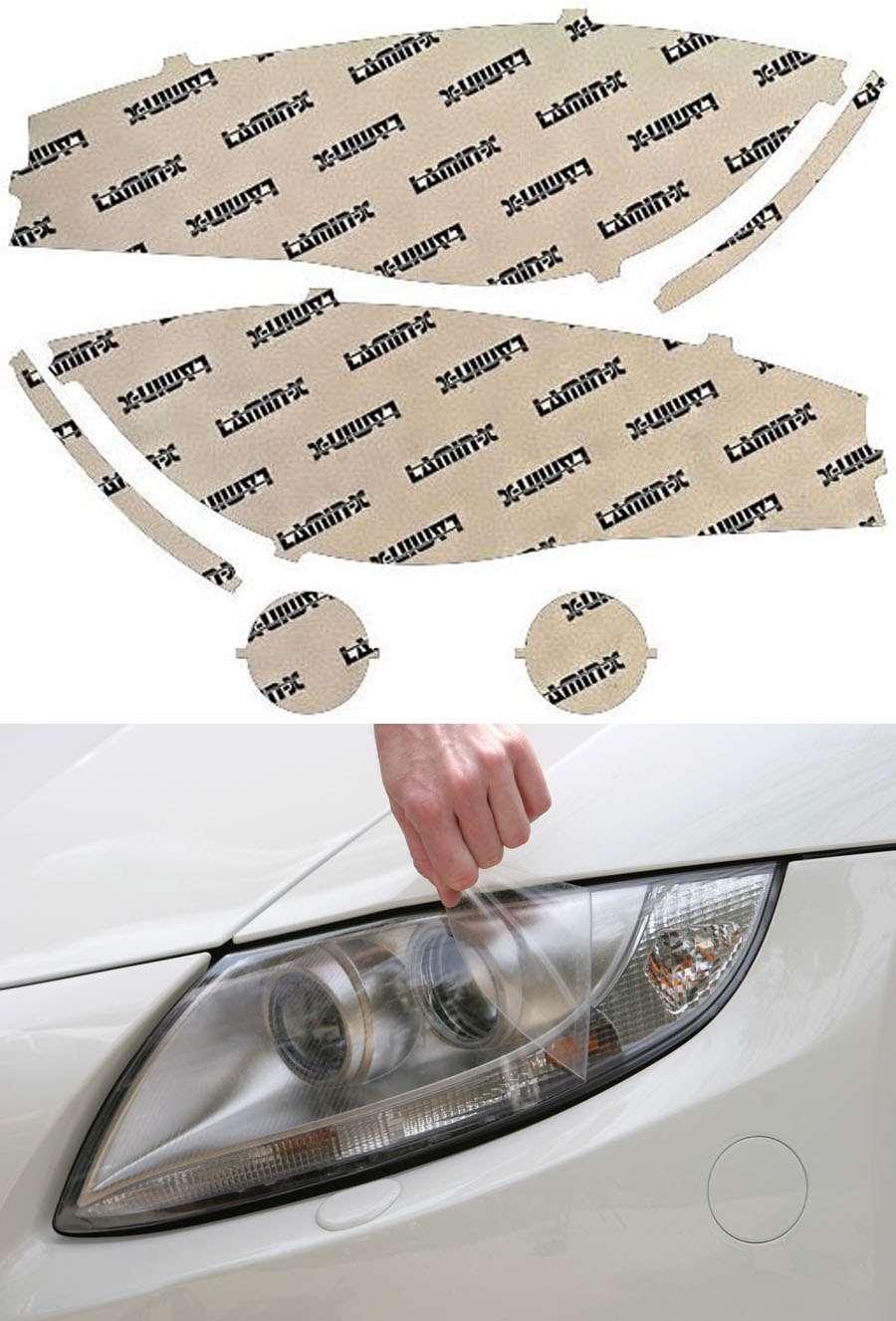 BMW X5 14-18 Clear Headlight Covers Lamin-X B046CL