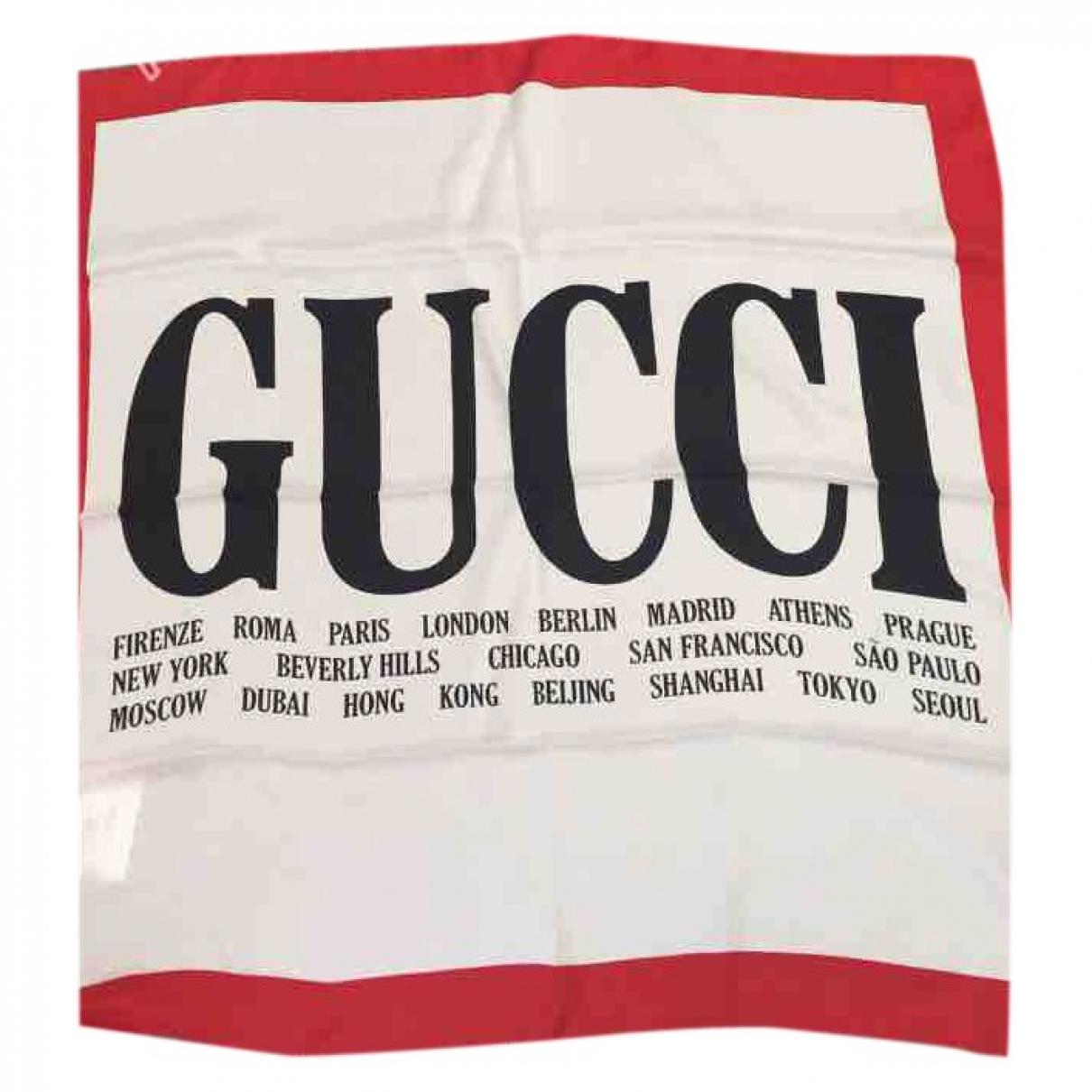 Gucci \N Schal in  Weiss Seide