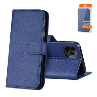 Reiko 3-In-1 Wallet Case for APPLE IPHONE 11 PRO MAX (BLUE)