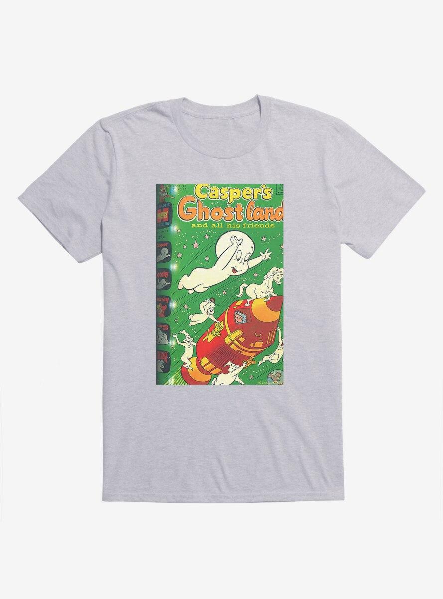 Casper The Friendly Ghost Ghostland And Friends Rocket T-Shirt