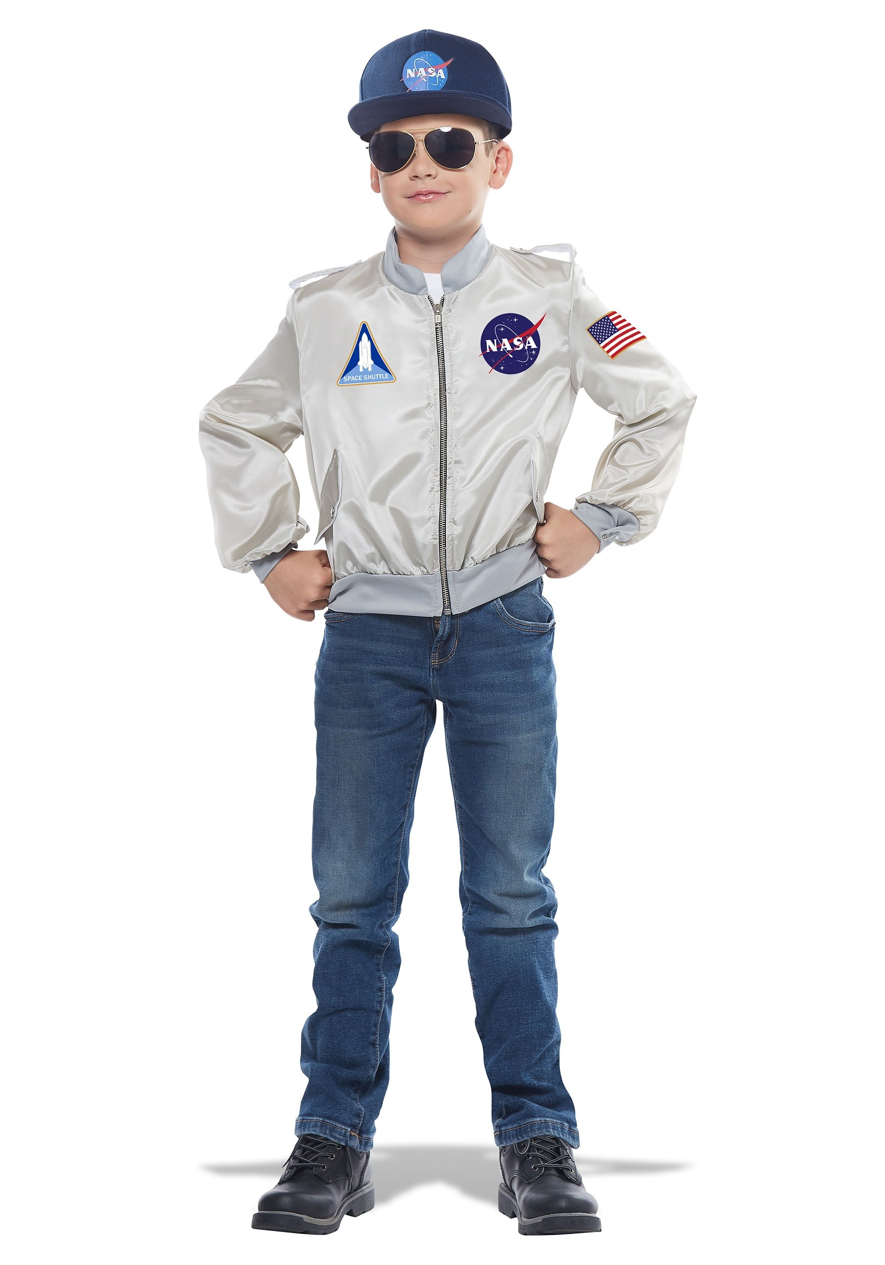 NASA Flight Jacket Costume for Children
