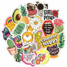 50pcs Cartoon Pattern Personality Sticker