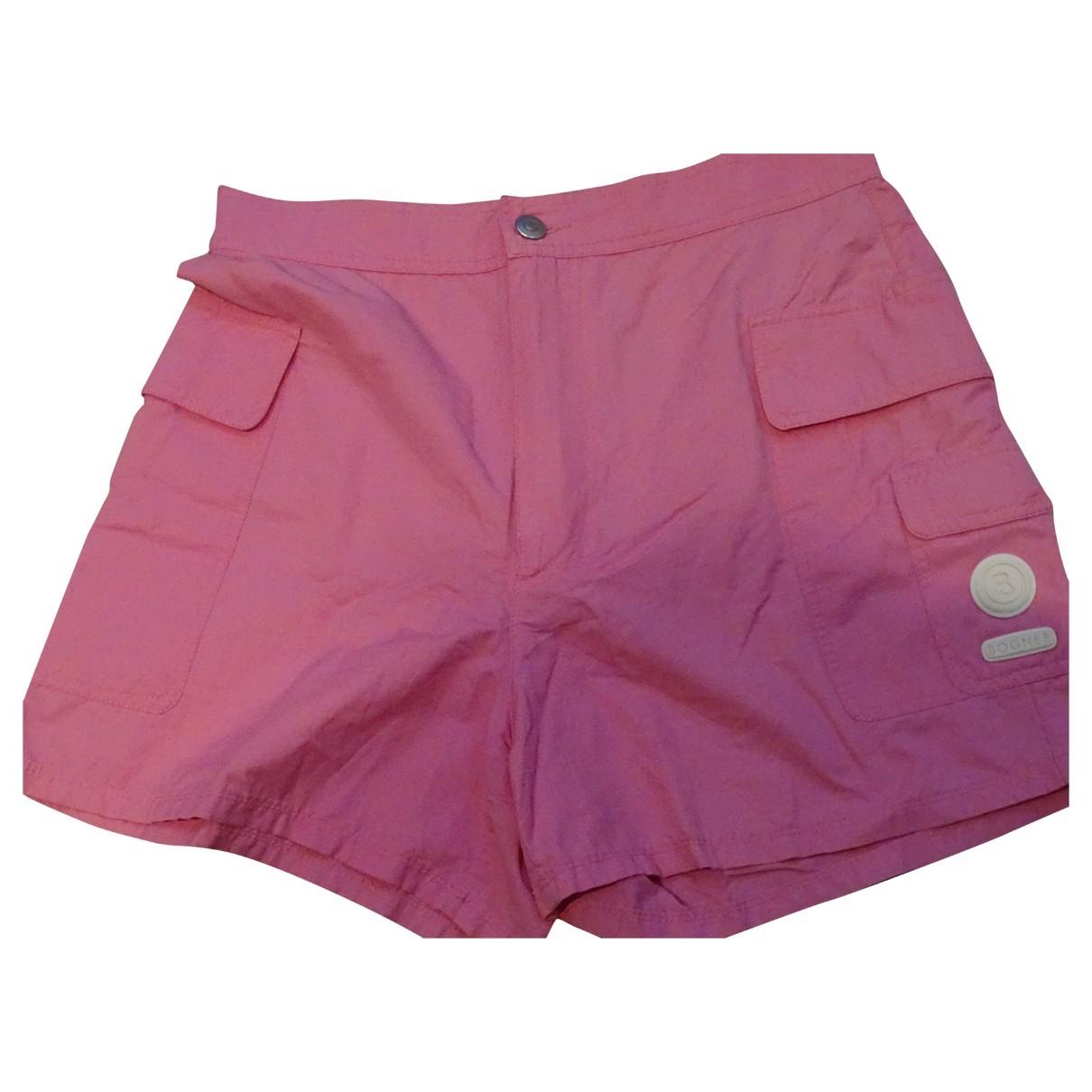 Bogner - Short   pour femme en coton - rose