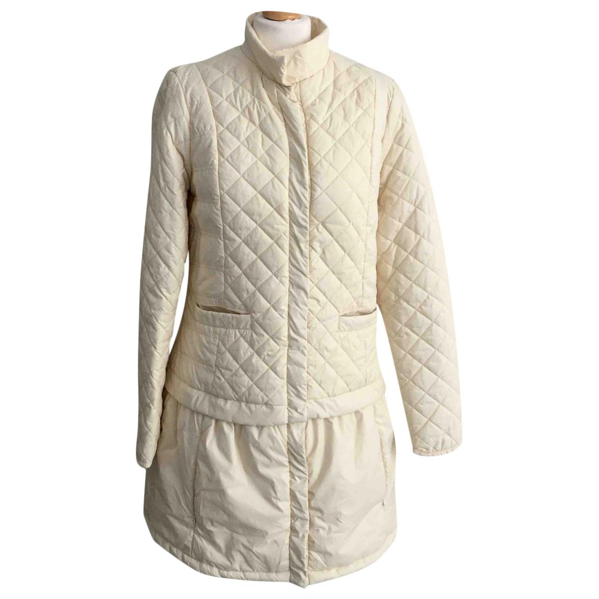 Twin Set - Manteau   pour femme - ecru