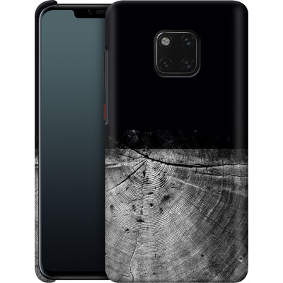 Huawei Mate 20 Pro Smartphone Huelle - Wood Grain Slice von caseable Designs