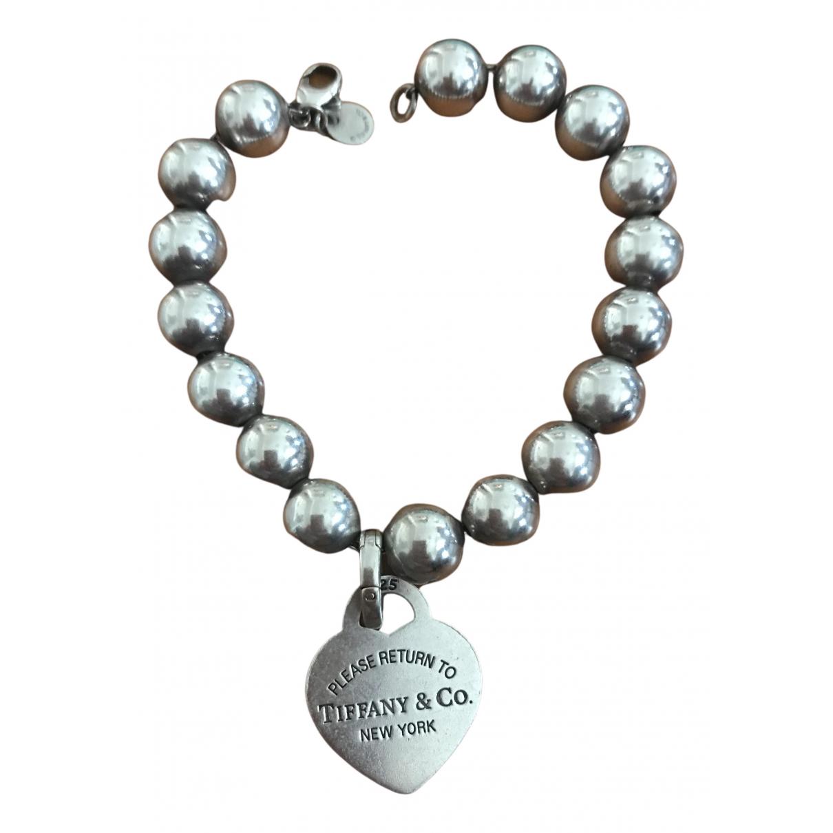 Pulsera Return to Tiffany de Plata Tiffany & Co